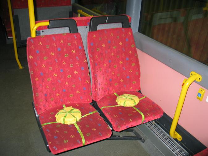 Installation på buss